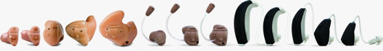 Hearing Center Alera Hearing Aids Linup
